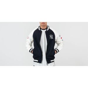 New Era MLB New York Yankees Raglan Varsity Jacket Navy/ Off White
