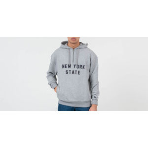 New Era New York State Hoodie Light Grey