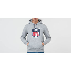 New Era Nfl Logo Hoodie Heather Grey