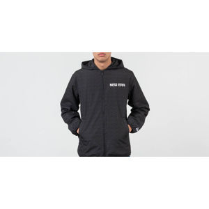New Era Rain Camo Hooded Coach Jacket Black