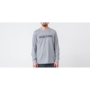 New Era Rain Camo Longsleeve Tee Light Grey Heather