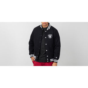 New Era Varsity Jacket Oakland Riders Black/ White