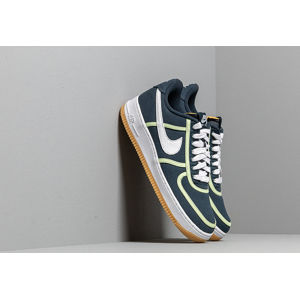 Nike Air Force 1 '07 Premium Armory Navy/ White-Barely Volt