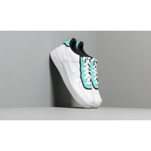 Nike Air Force 1 LV8 1 Double GS White/ White-Light Aqua-Black