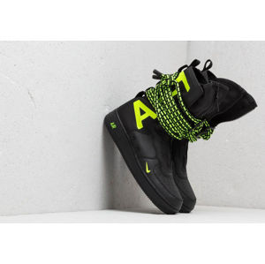 Nike Air Force 1 SF Hi Black/ Volt-Black