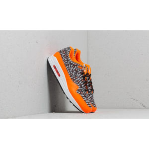 Nike Air Max 1 Premium Black/ Black-Total Orange-White
