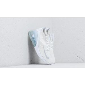 Nike Air Max 270 Flyknit White/ Pure Platinum-White