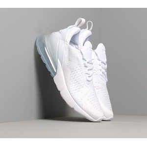 Nike Air Max 270 (GS) White/ White-Metallic Silver