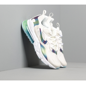 Nike Air Max 270 React 20 (GS) Summit White/ Multi-Color-Platinum Tint