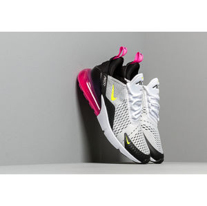 Nike Air Max 270 White/ Volt-Black-Laser Fuchsia