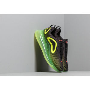 Nike Air Max 720 Black/ Bright Crimson-Volt