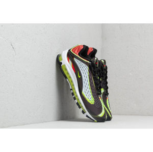 Nike Air Max Deluxe Black/ Volt-Habanero Red-White