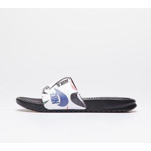 Nike Benassi Jdi Print Black/ Black-White-Multi-Color