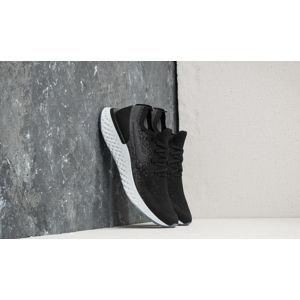 Nike Epic React Flyknit Black/ Black-Dark Grey
