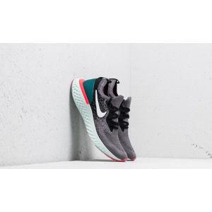 Nike Epic React Flyknit (GS) Gunsmoke/ White-Black