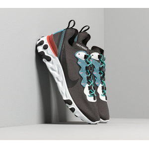 Nike React Element 55 Se Anthracite/ Blue Fury-Pure Platinum