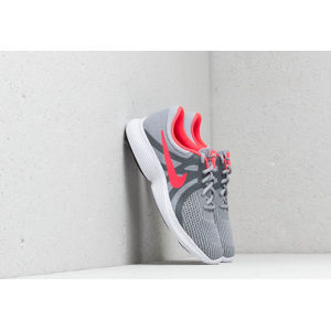 Nike Revolution 4 (GS) Wolf Grey/ Racer Pink-Cool Grey