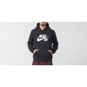 Nike SB Icon Essential Hoodie Black/ White