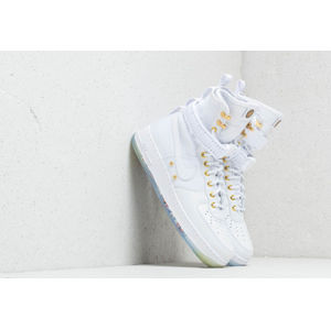Nike SF Air Force 1 LNY QS White/ White/ Metallic Gold