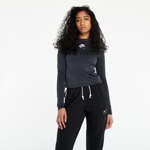 Nike Sportswear Air Mock Longsleeve Rib Black/ Iron Grey/ White