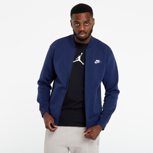 Nike Sportswear Club Bomber Jacket Midnight Navy/ Midnight Navy/ White