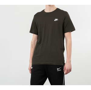 Nike Sportswear Club Tee Sequoia/ White