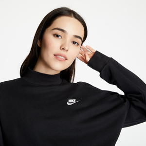 Nike Sportswear Fleece Crewneck Black/ White