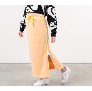 Nike Sportswear Fleece Long Skirt Orange Chalk/ White/ Laser Orange