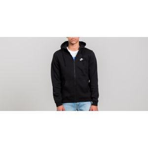 Nike Sportswear Full Zip Hoodie Black/ Black/ White