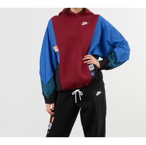 Nike Sportswear Icon Clash Pullover Mix Os Hoodie Team Red