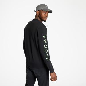 Nike Sportswear Longsleeve Tee Black/ Green Nebula/ Ember Glow