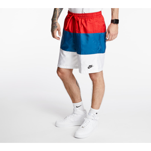 Nike Sportswear SCE Woven Nvlty Shorts University Red/ Industrial Blue/ White