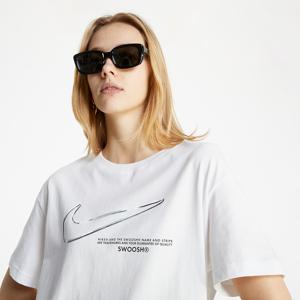 Nike Sportswear Tee Boy Swoosh White