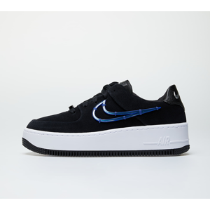 Nike W Air Force 1 Sage Low LX Black/ Deep Royal Blue-Metallic Silver