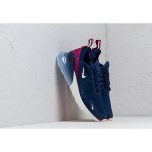 Nike W Air Max 270 Blue Void/ Crimson Tint-True Berry