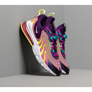 Nike W Air Max 270 React Eng Eggplant/ White-Magic Flamingo