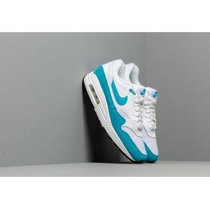 Nike Wmns Air Max 1 White/ Lt Blue Fury-Black