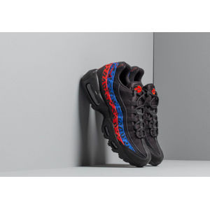 Nike Wmns Air Max 95 Prm Black/ Black-Habanero Red-Racer Blue