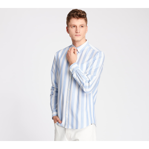 Norse Projects Anton Oxford Shirt Pale Blue Wide Stripe