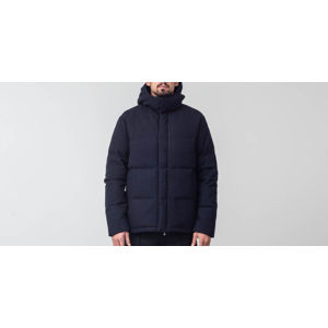 Norse Projects Asger Waterproof Wool Jacket Dark Navy