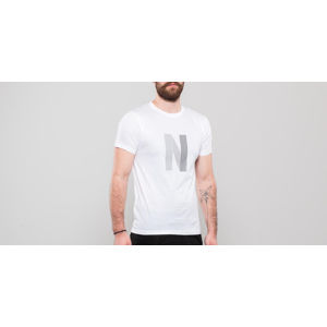 Norse Projects Niels Layer Logo Tee White