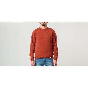 Norse Projects Sigfred Lambswool Sweater Signal Orange