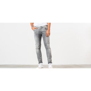 Nudie Jeans Grim Tim Jeans Light Grey Trashed