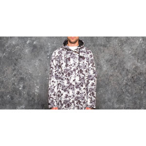 Original Peoples Mind Black Camo Parka Aqua Camo Black