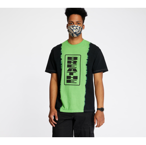 PLEASURES Breate Split Dye Tee Black/ Green