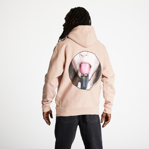 PLEASURES Charge Premium Hoody Dusty Rose