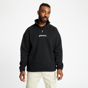 PLEASURES Harmony Quarter Zip Pullover Black