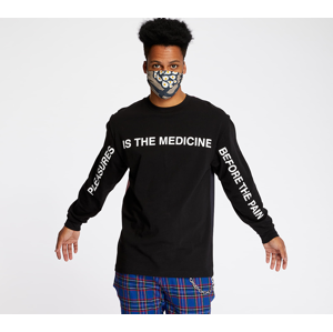 PLEASURES Medicine Premium Long Sleeve Tee Black