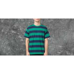 Polar 91' Stripe Tee Green/ Navy
