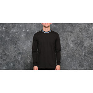 Polar Striped Rib Longsleeve Tee Black